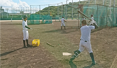 硬式野球部1