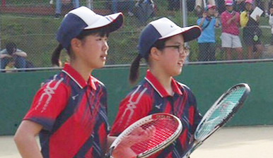 ソフトテニス部1