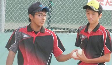 ソフトテニス部3