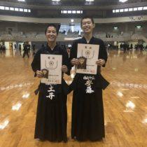 北九州市民体育祭、1年男子優勝!【剣道部】