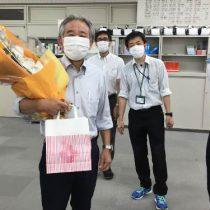 西村先生 お世話になりました